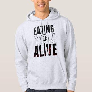 EYA logo - Hooded Sweatshirt light