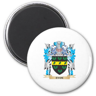 Eyck Coat of Arms - Family Crest Refrigerator Magnet