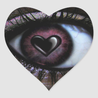 Eye <3 U Sticker