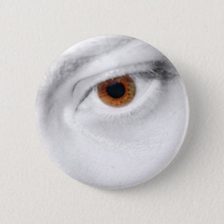 Eye 6 Cm Round Badge