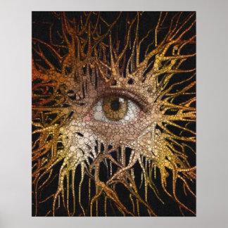 Eye Abstract Art Poster