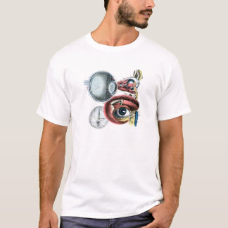Eye Anatomy Illustration Optometry T-Shirt
