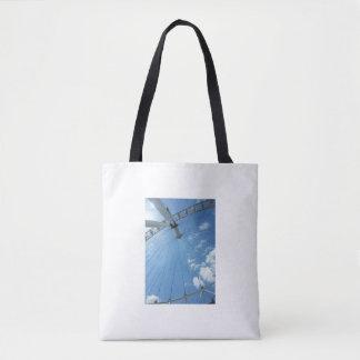 Eye and Ben- London images bag. Tote Bag