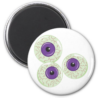 Eye Balls 6 Cm Round Magnet