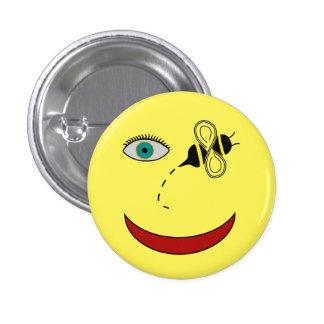 Eye Bee Happy 3 Cm Round Badge