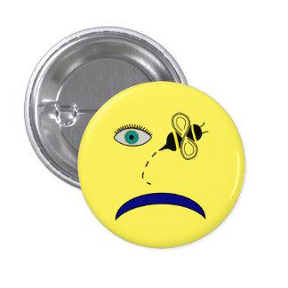 Eye Bee Sad 3 Cm Round Badge