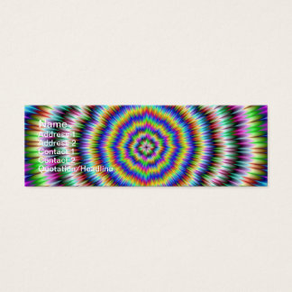 eye boggling psychedelic Card