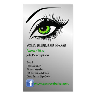 Eye Business Card Template