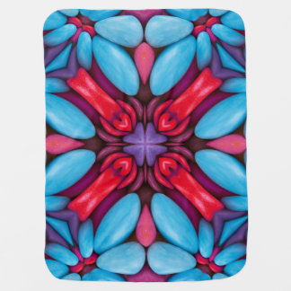 Eye Candy Kaleidoscope  Baby Blankets