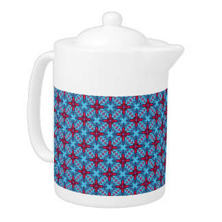 Eye Candy Kaleidoscope    Pattern  Teapots