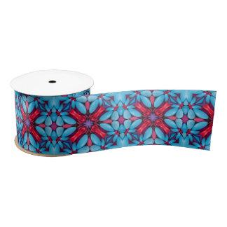 """Eye Candy Kaleidoscope   Ribbon. 1.5"""" or 3"""" Satin Ribbon"""