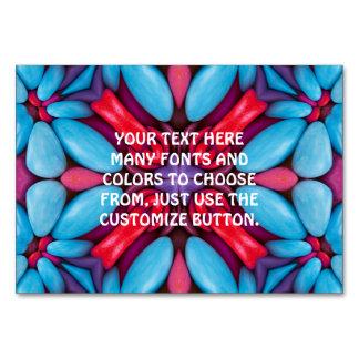 Eye Candy Kaleidoscope  Tablecards Card