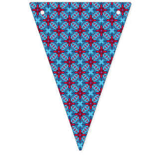 Eye Candy Kaleidoscope Vintage Bunting Flags