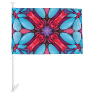 Eye Candy Pattern  Customizable Car Flags