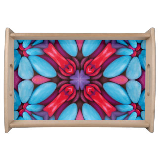 Eye Candy Pattern   Serving Trays, 2 sizes Serving Tray