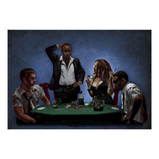 Eye Candy Poker Poster