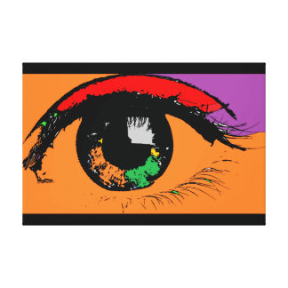 Eye Canvas Print