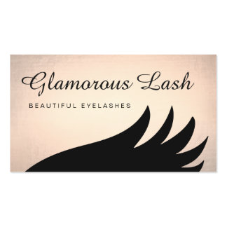 Eye Catching Eyelash Extensions Pack Of Standard Business Cards