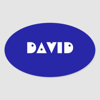 Eye-catching name tag template