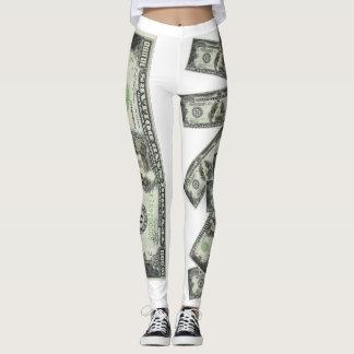 *Eye Catching* Spaniel $10,000 Note Leggings! Leggings