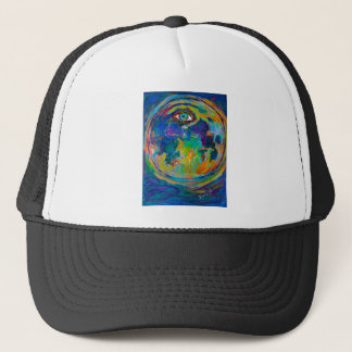 Eye Crater Trucker Hat