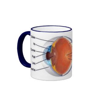 eye cup II Ringer Mug