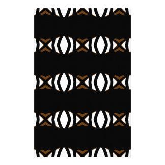 Eye design pattern stationery