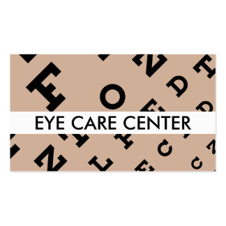 Eye Doctor Business Cards