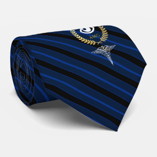 Eye Doctor | Optometrist Customized Navy Tie
