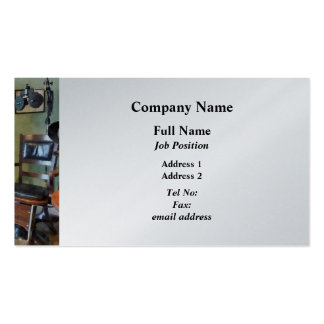 Eye Doctor's Office - Platinum Business Cards