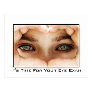 Eye Exam Appointment Reminder Postcard