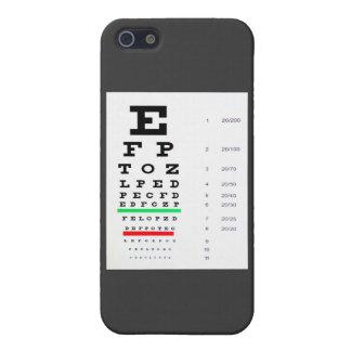 Eye Exam Chart iPhone 5/5S Cases