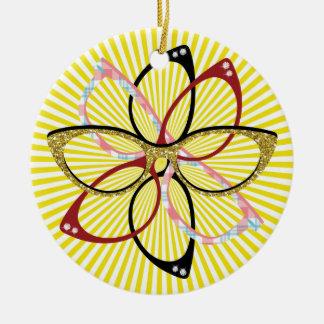 Eye Glasses - SRF Ceramic Ornament