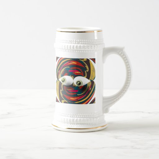 Eye Guy 3 Beer Steins