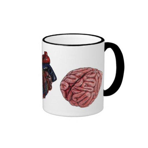 Eye Heart Brains Mug