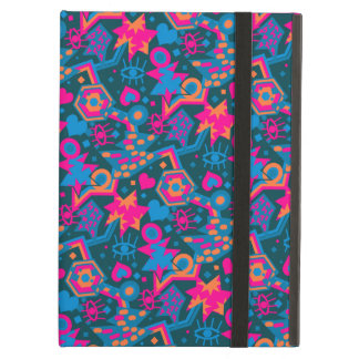 Eye heart pop art cool bright pink  pattern case for iPad air