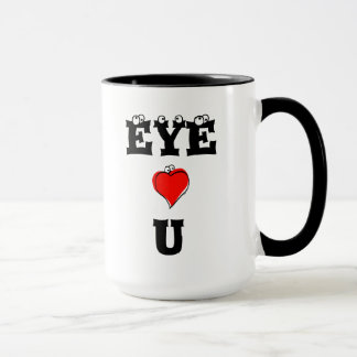 EYE HEART U #2 Mug