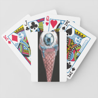 eye hoists cream bicycle playing cards