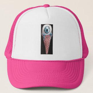 eye hoists cream trucker hat