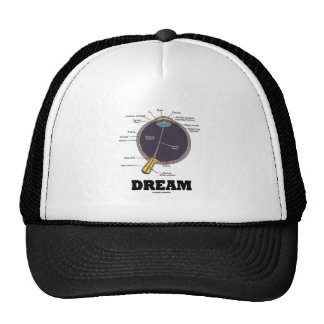 Eye (I) Dream (Anatomical Human Eyeball) Mesh Hats