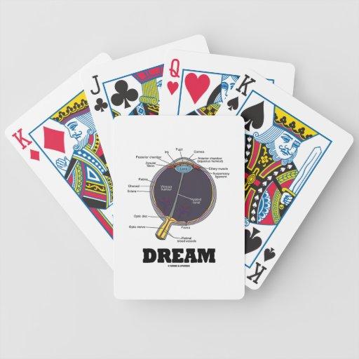 Eye (I) Dream (Anatomical Human Eyeball) Bicycle Poker Cards