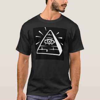 Eye In The Pyramid - black T-Shirt