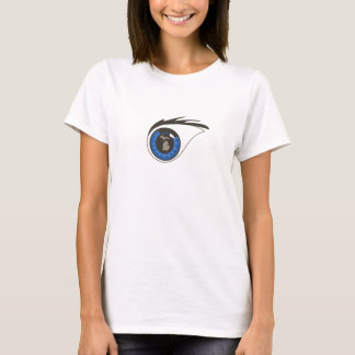 Eye logo fitted shirt