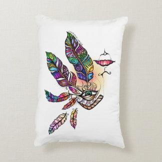 EYE Love FEATHERS Fantasy Art Decorative Cushion