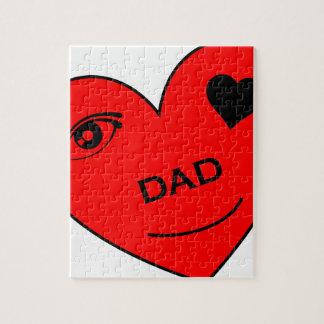 Eye Love My Dad Jigsaw Puzzle