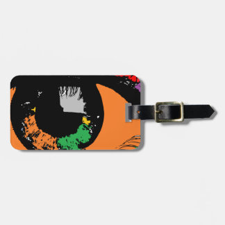 Eye Luggage Tag