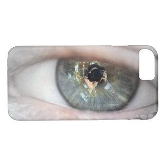 Eye-Macro by Shirley Taylor iPhone 8/7 Case