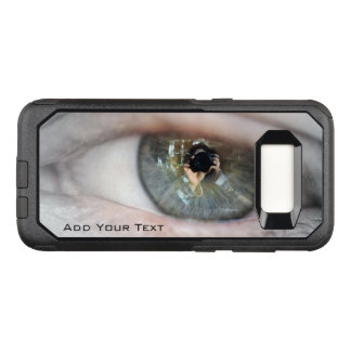 Eye-Macro by Shirley Taylor OtterBox Commuter Samsung Galaxy S8 Case