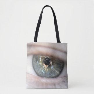 Eye-Macro Tote Bag