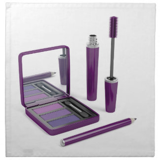 Eye make-up set napkin